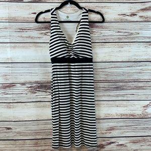 Dakini Razorback Stripe Dress Sz XS